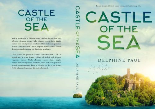 Castle of the Sea - Fantasy Premade Book Cover For Sale @ Beetiful Book Covers