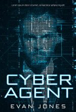 Cyber Agent – Science-Fiction Premade Book Cover For Sale @ Beetiful Book Covers