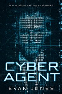 Cyber Agent - Science-Fiction Premade Book Cover For Sale @ Beetiful Book Covers