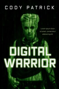 Digital Warrior - Science-Fiction Premade Book Cover For Sale @ Beetiful Book Covers