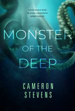 Monster of the Deep – Science-Fiction / Fantasy Premade Book Cover For Sale @ Beetiful Book Covers