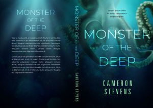 Monster of the Deep - Science-Fiction / Fantasy Premade Book Cover For Sale @ Beetiful Book Covers