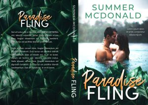 Paradise Fling - Romance Premade Book Cover For Sale @ Beetiful Book Covers
