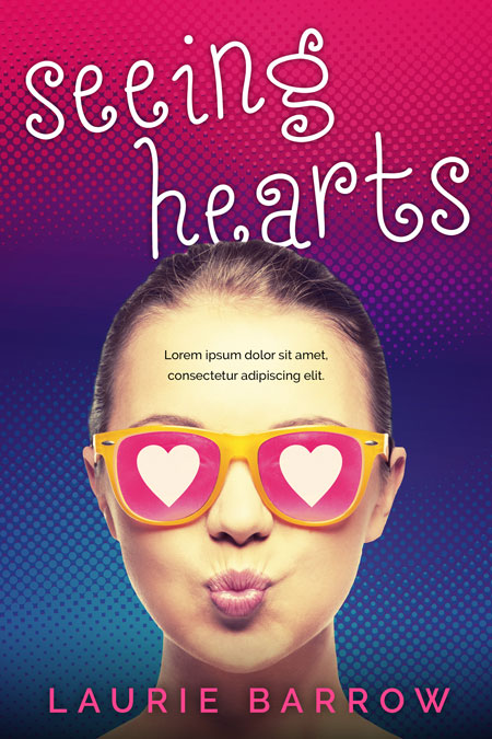Seeing Hearts - Young Adult Premade Book Cover For Sale @ Beetiful Book Covers