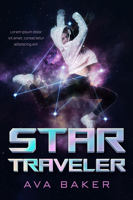 Star Traveler - Young Adult Science-Fiction Premade Book Cover For Sale @ Beetiful Book Covers