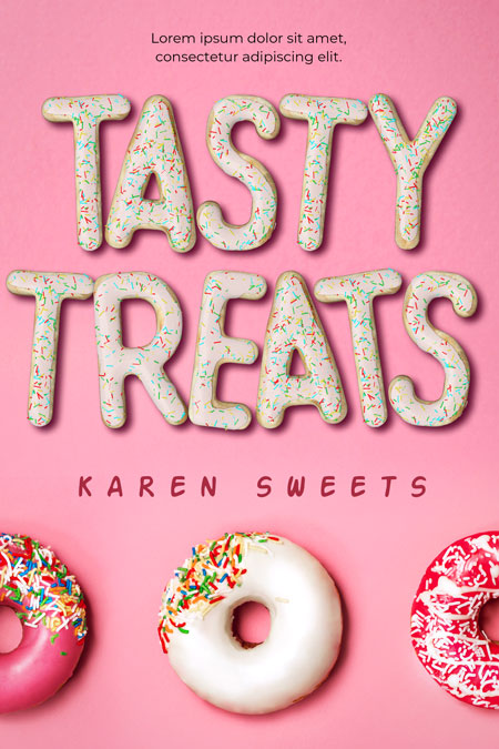 Tasty Treats - Dessert Premade Book Cover For Sale @ Beetiful Book Covers