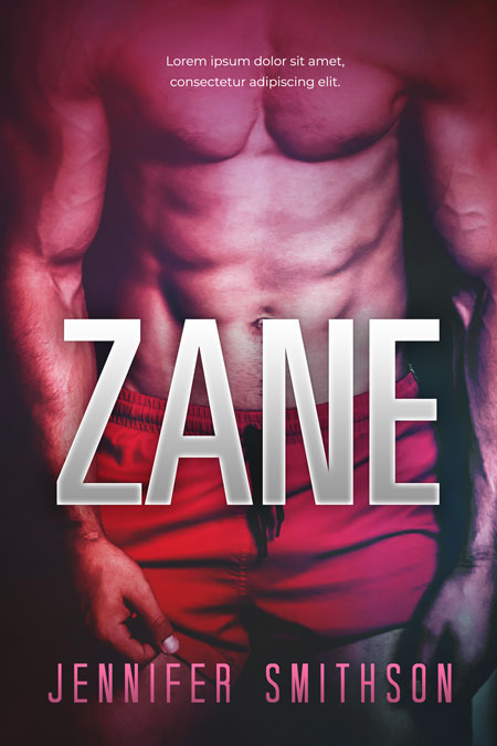 Zane - Erotic Romance / Erotica Premade Book Cover For Sale @ Beetiful Book Covers