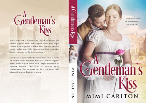 A Gentleman's Kiss - Historical Romance Premade Book Cover For Sale @ Beetiful Book Covers