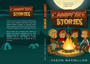 Campfire Stories - Middle-grade Premade Book Cover For Sale @ Beetiful Book Covers