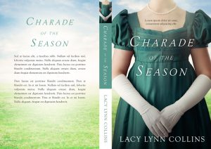 Charade of the Season - Regency Historical Romance Premade Book Cover For Sale @ Beetiful Book Covers