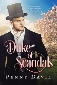Duke of Scandals - Historical Romance Premade Book Cover For Sale @ Beetiful Book Covers