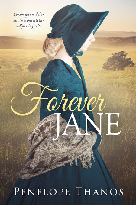 Forever Jane - Historical Romance Premade Book Cover For Sale @ Beetiful Book Covers