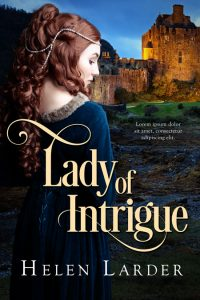 Lady of Intrigue - Medieval Historical Romance Premade Book Cover For Sale @ Beetiful Book Covers