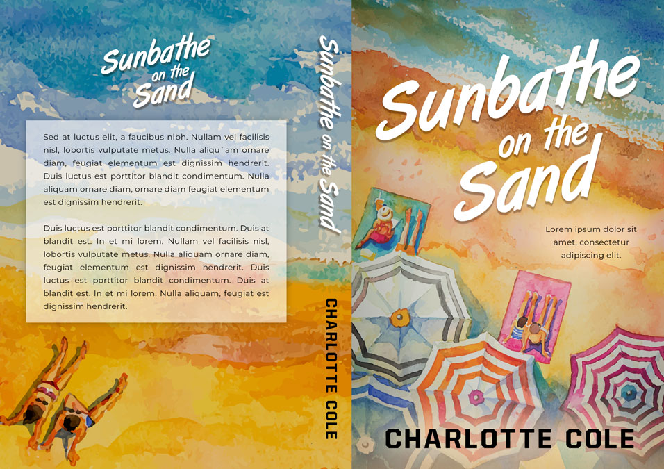 Series: Beach Party - Summer Series Premade Book Covers For Sale - Beetiful Book Covers