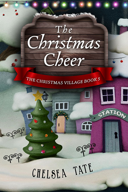 Series: Christmas Village - Christmas Series Premade Book Covers For Sale - Beetiful Book Covers