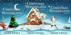 vSeries: Christmas Wonderland - Christmas Series Premade Book Covers For Sale - Beetiful Book Covers