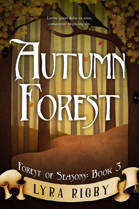 Series: Forest of Seasons - Season Series Premade Book Covers For Sale - Beetiful Book Covers