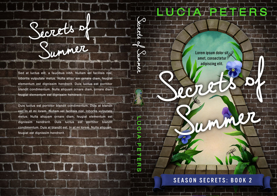 Series: Season Secrets - Season Series Premade Book Covers For Sale - Beetiful Book Covers