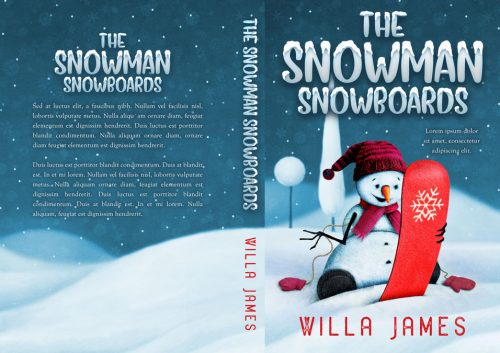 Series: The Snowman - Snowman Series Premade Book Covers For Sale - Beetiful Book Covers