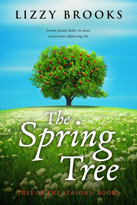 Series: Tree of the Seasons - Fiction Series Premade Book Covers For Sale - Beetiful