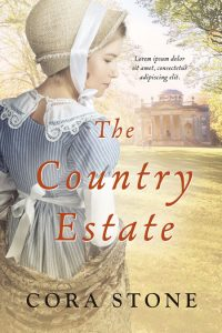 The Country Estate - Historical Romance Premade Book Cover For Sale @ Beetiful Book Covers