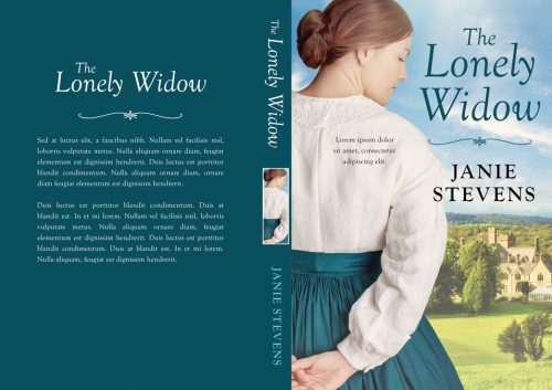 The Lonely Widow - Historical Romance Premade Book Cover For Sale @ Beetiful Book Covers