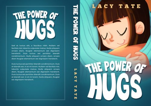 The Power of Hugs - Children's Book Premade Book Cover For Sale @ Beetiful Book Covers