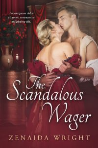 The Scandalous Wager - Historical Romance Premade Book Cover For Sale @ Beetiful Book Covers