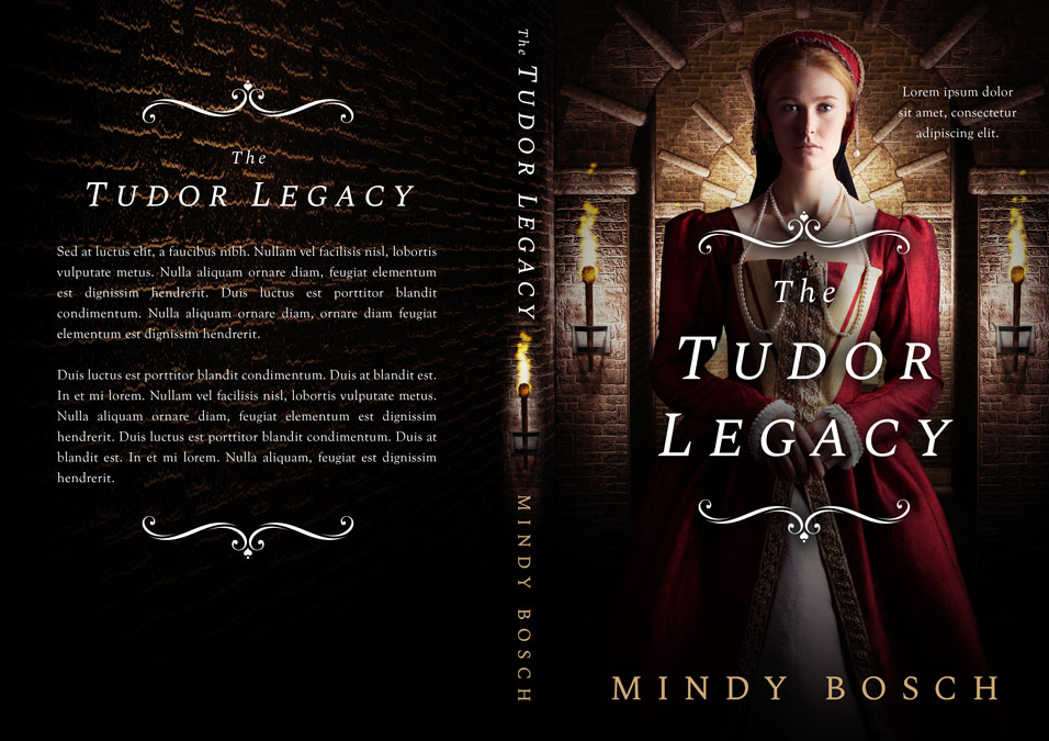 The Tudor Legacy - Historical Romance Premade Book Cover For Sale @ Beetiful Book Covers