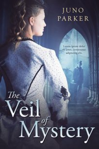 Veil of Mystery - Historical Mystery Premade Book Cover For Sale @ Beetiful Book Covers