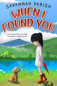 When I Found You - Middle-grade Premade Book Cover For Sale @ Beetiful Book Covers
