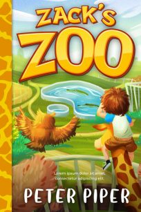 Zack's Zoo - Middle-grade Premade Book Cover For Sale @ Beetiful Book Covers