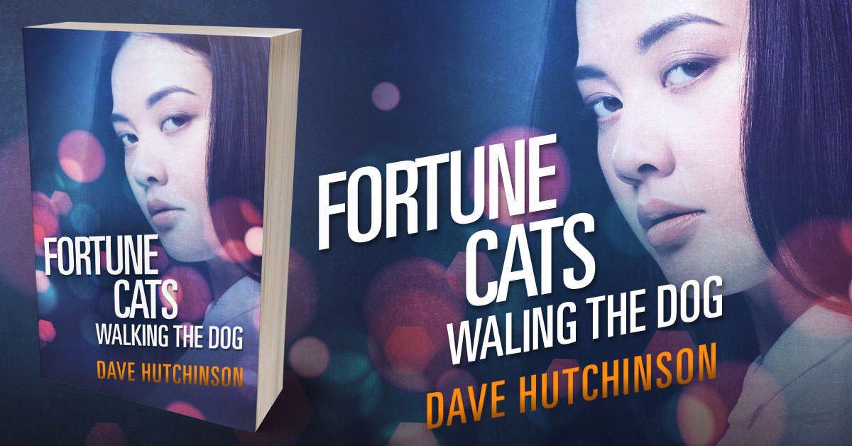 Showcase Spotlight: Fortune Cats Walking the Dog by Dave Hutchinson