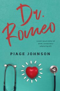 Dr. Romeo - Chick Lit Medical Romance Premade Book Cover For Sale @ Beetiful Book Covers