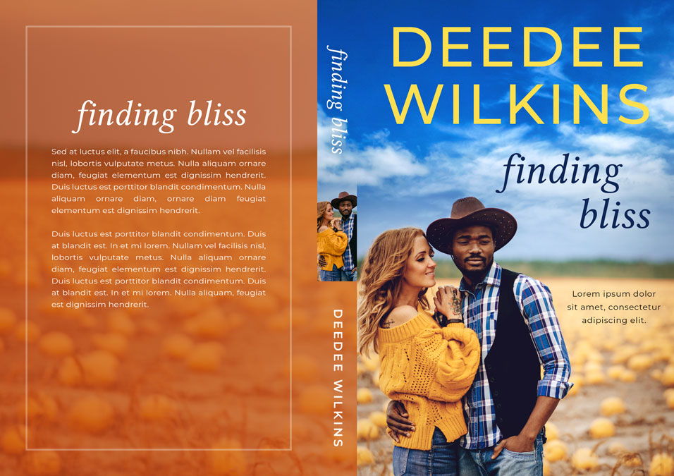 Finding Bliss - Contemporary Country Interracial Romance Premade Book Cover For Sale @ Beetiful Book Covers