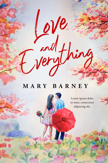 Love and Everything - Romance Premade Book Cover For Sale @ Beetiful Book Covers