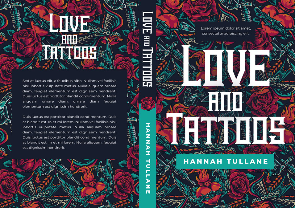 Love and Tattoos - Contemporary Romance Premade Book Cover For Sale @ Beetiful Book Covers