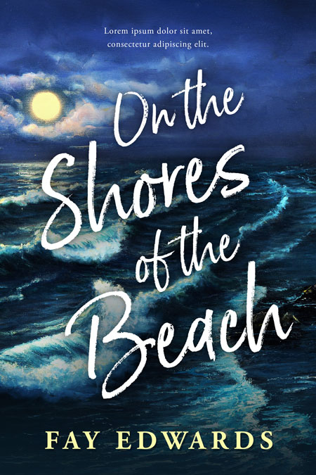 On the Shores of the Beach - Fiction Premade Book Cover For Sale @ Beetiful Book Covers