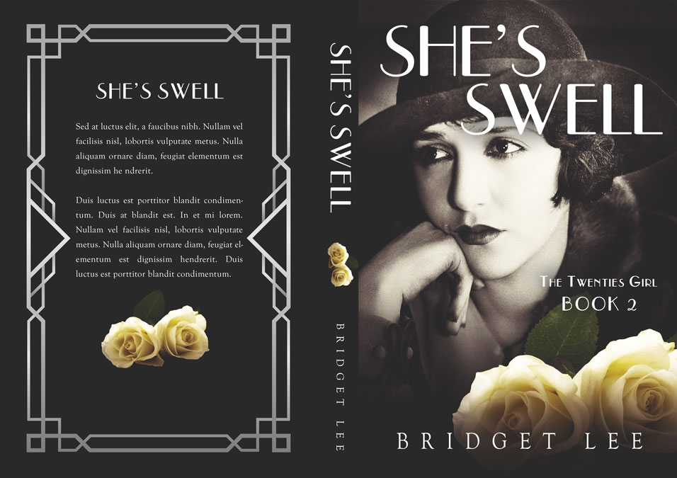 Series: The Twenties Girl - Historical Romance Series Premade Book Covers For Sale - Beetiful Book Covers