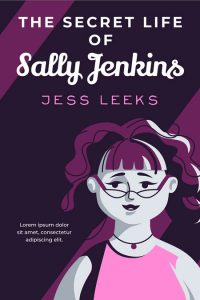 The Secret Life of Sally Jenkins - Chick Lit Premade Book Cover For Sale @ Beetiful Book Covers