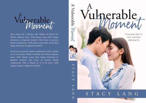 A Vulnerable Moment - Asian Contemporary Romance Premade Book Cover For Sale @ Beetiful Book Covers