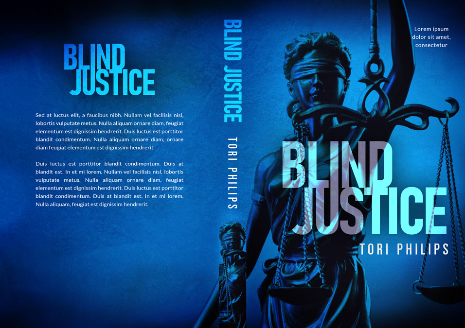 Blind Justice - Mystery / Suspense Premade Book Cover For Sale @ Beetiful Book Covers
