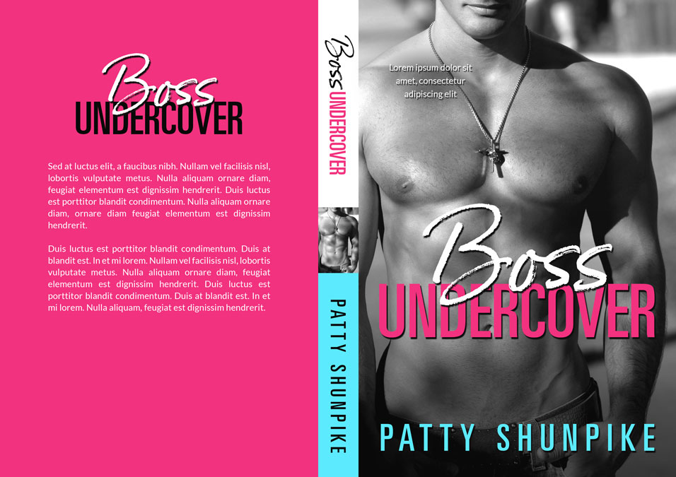 Boss Undercover - Contemporary Romance Premade Book Cover For Sale @ Beetiful Book Covers