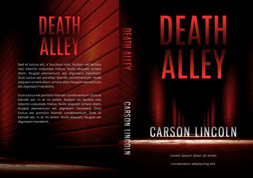 Death Alley - Mystery / Suspense / Thriller Premade Book Cover For Sale @ Beetiful Book Covers