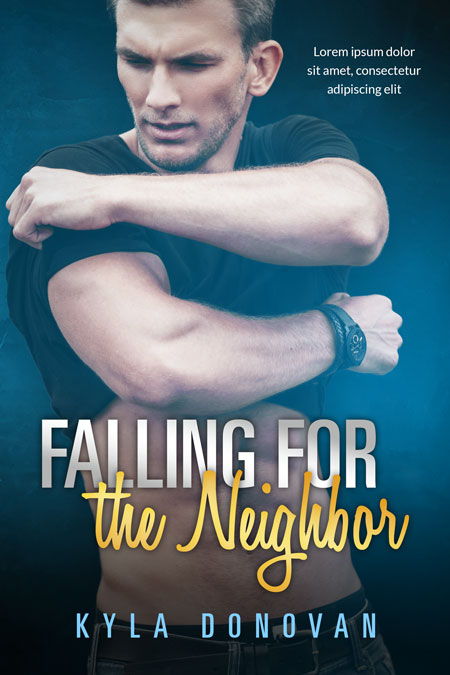 Falling For the Neighbor - Contemporary Romance Premade Book Cover For Sale @ Beetiful Book Covers