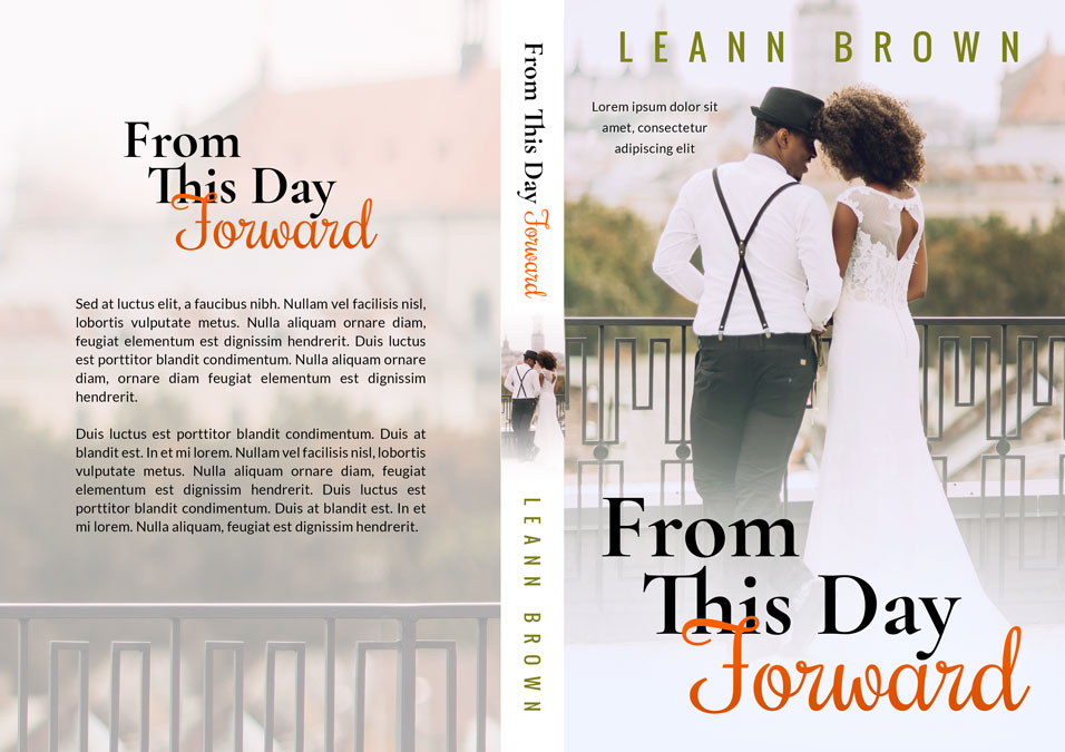 From This Day Forward - African-American Contemporary Romance Premade Book Cover For Sale @ Beetiful Book Covers