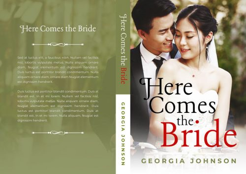 Here Comes the Bride - Asian Contemporary Romance Premade Book Cover For Sale @ Beetiful Book Covers