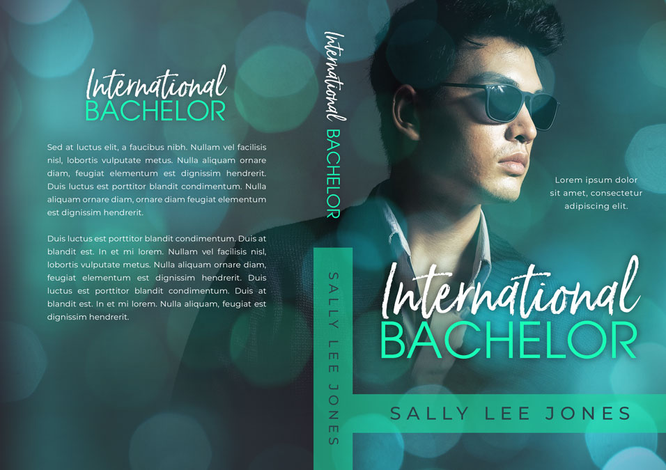 International Bachelor - Asian Contemporary Romance Premade Book Cover For Sale @ Beetiful Book Covers