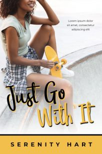 Just Go With It - African-American Young Adult Fiction Premade Book Cover For Sale @ Beetiful Book Covers