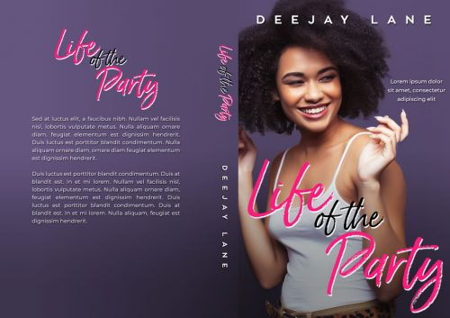 Life of the Party - African-American Women's Fiction Premade Book Cover For Sale @ Beetiful Book Covers